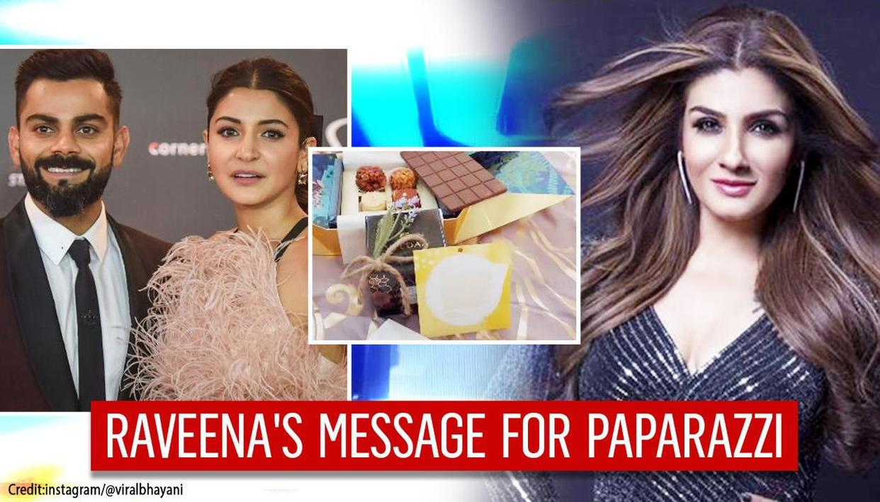 Virat Kohli-Anushka's request to paparazzi on daughter gets thumbs up from Raveena Tandon