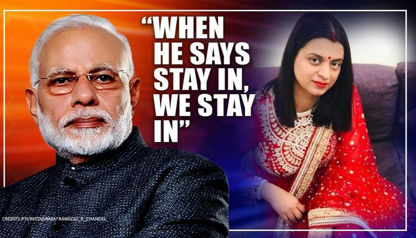 In Himachal PM Modi is worshipped, his words like Geeta, says Rangoli on COVID-19 lockdown