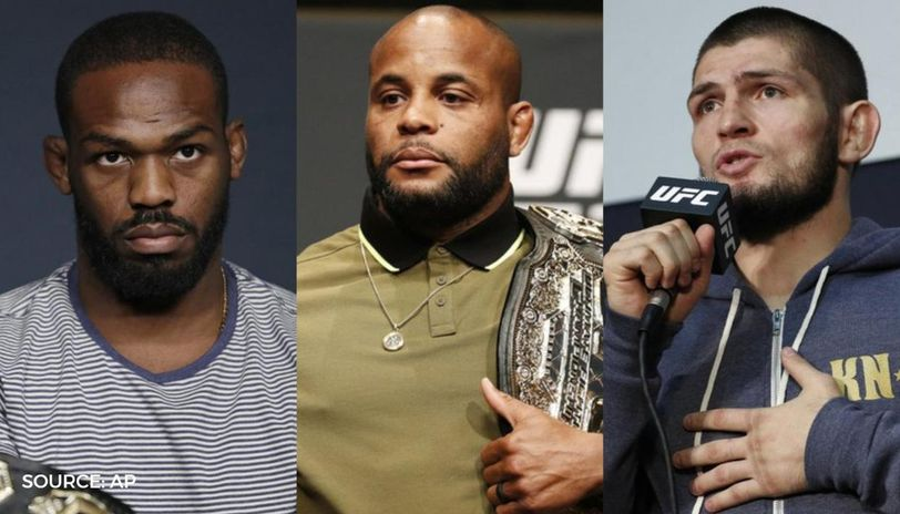 Daniel Cormier claims Jon Jones 'lost his mind' after outbursts at Khabib in UFC GOAT row