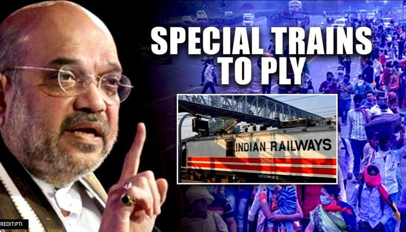 MHA permits movement of stranded persons by train, Railways to run ...