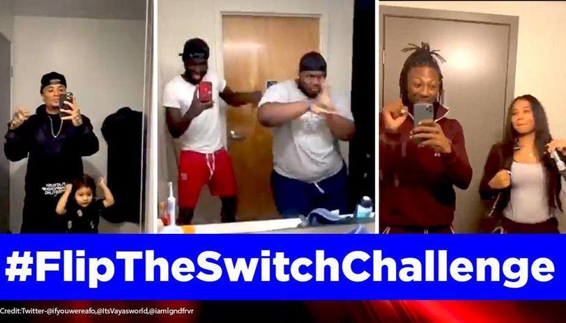 Flip the switch challenge on TikTok takes internet by storm