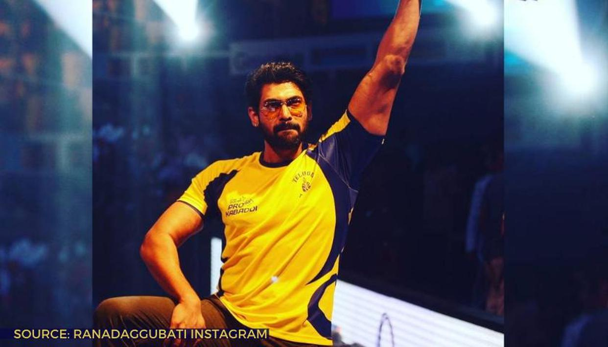 DYK Rana Daggubati is a true kabaddi enthusiast & brand ambassador of Pro Kabaddi League?