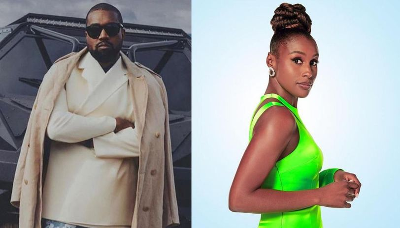 Kanye West Slams Issa Rae's 'SNL' Skit And Says He's 'praying For Her And Her Family'