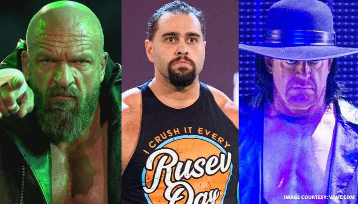 """Rusev recalls experience with """"unreachable gods"""" Triple H and Undertaker in WWE - Republic World"""
