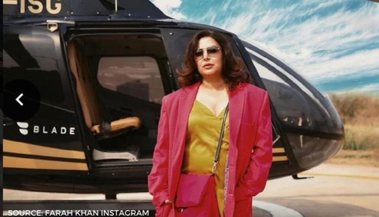 Farah Khan slams celebrities for posting workout videos online