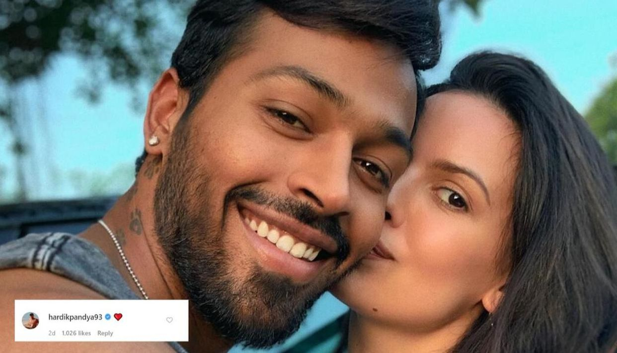 Natasa Stankovic And Hardik Pandya Give Fans Couple Goals From Recently Posted Selfie Republic World