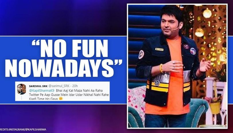 Kapil Sharma's fan jokingly trolls over him over controversial tweets, here's his reply