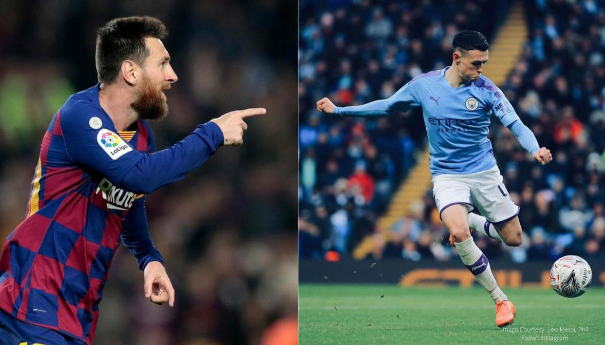 Lionel Messi's statement about Man City prodigy Phil Foden proves right  with these stats