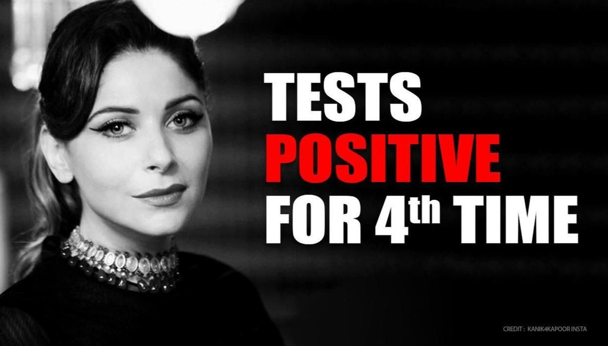 Kanika Kapoor tests positive for coronavirus for fourth time