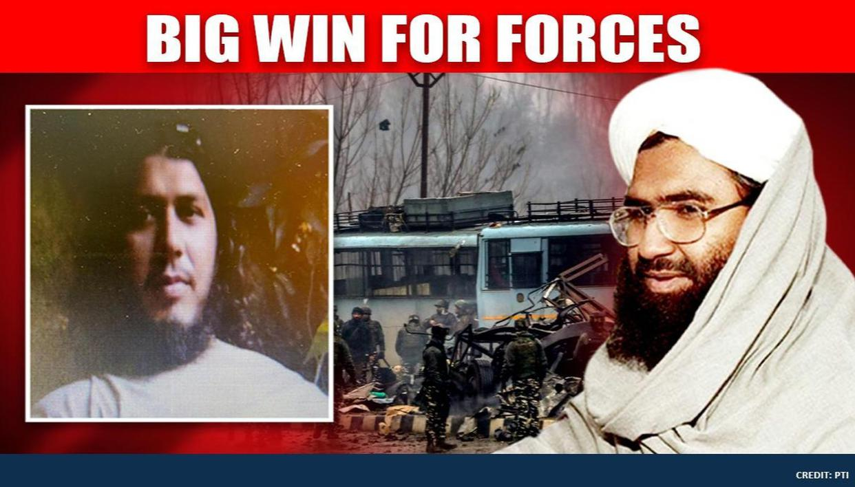Pak Terrorist Masood Azhar's nephew Ismail who fabricated 2019 Pulwama attack IED killed - Republic World