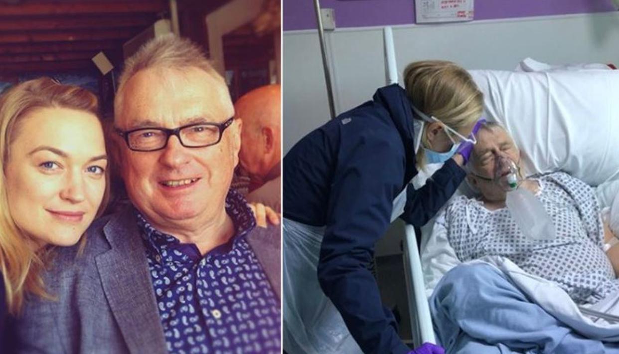 'Transformers' star Sophia Myles' father dies of coronavirus in the UK
