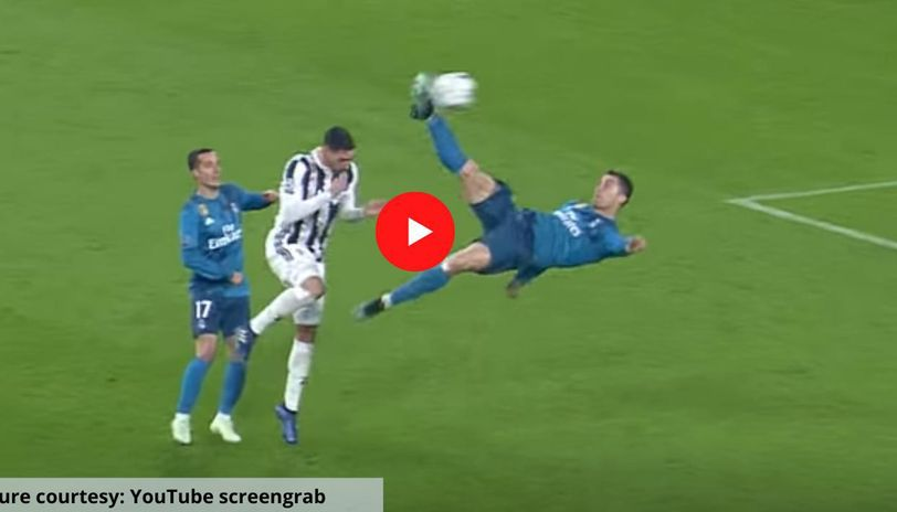 Cristiano Ronaldo Scores That Goal Vs Juventus For Real Madrid On Apr 3 2018 Watch Video Republic World