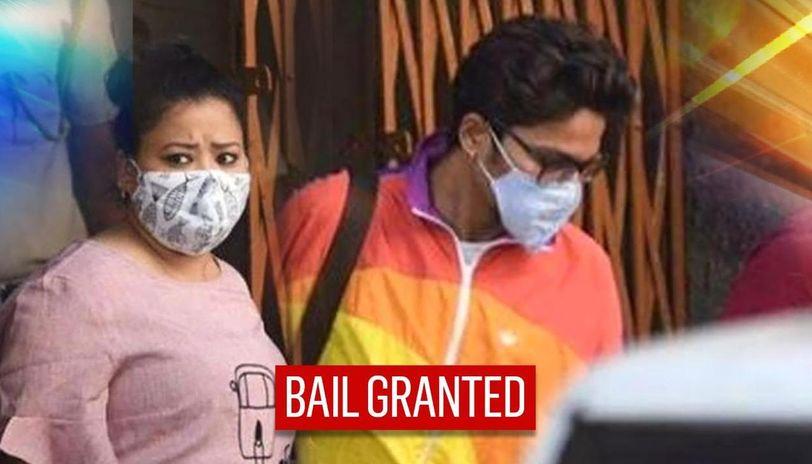 Bharti Singh & Husband Haarsh Limbachiyaa Granted Bail