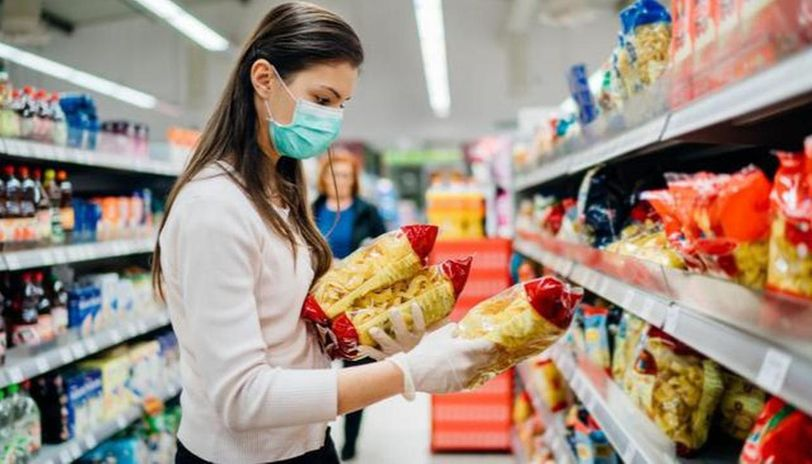 should you wear gloves during grocery shopping