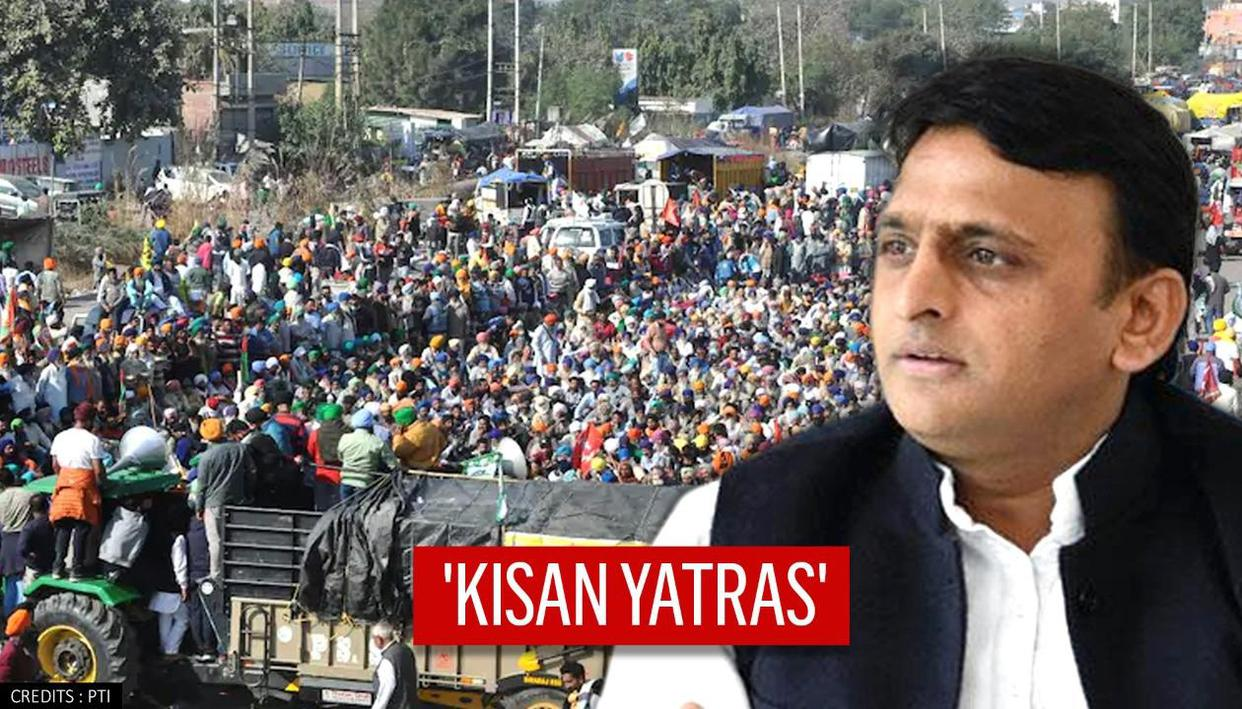 Samajwadi Party to hold Kisan Yatras on Dec 7 to extend support to farmers' protest
