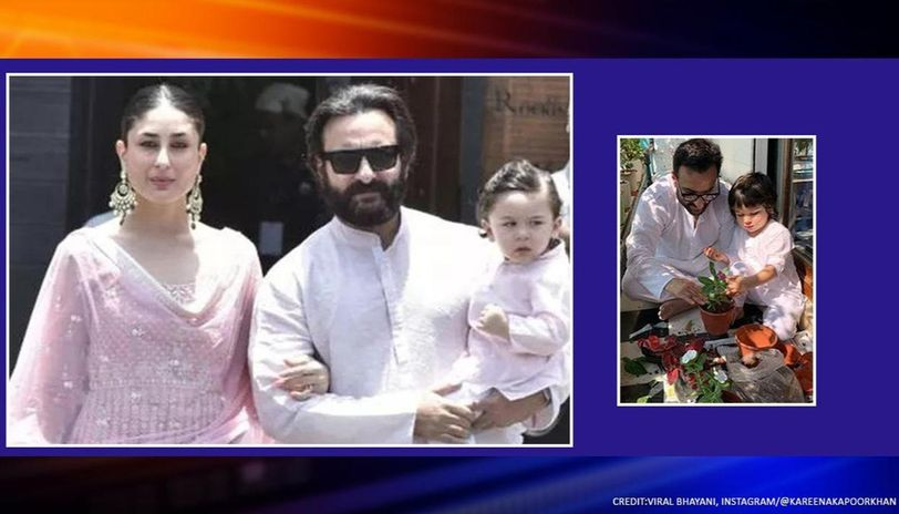 Janta Curfew: Kareena Kapoor's 'boys' Saif-Taimur doing their bit is visual delight