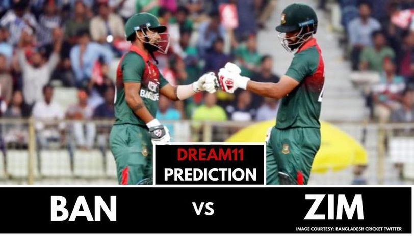 BAN vs ZIM dream11 prediction