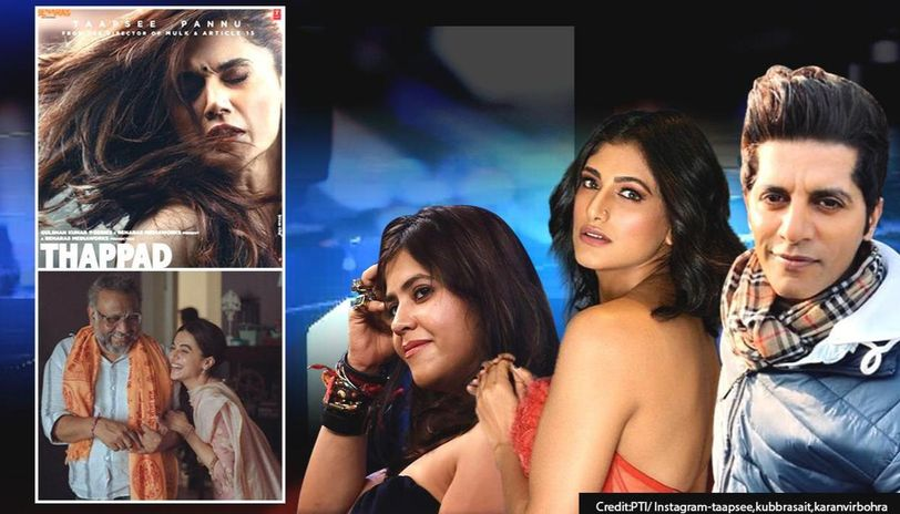 Ekta Kapoor, others slam 'tight slap to Thappad' box office report, ask 'Why so uneasy?'