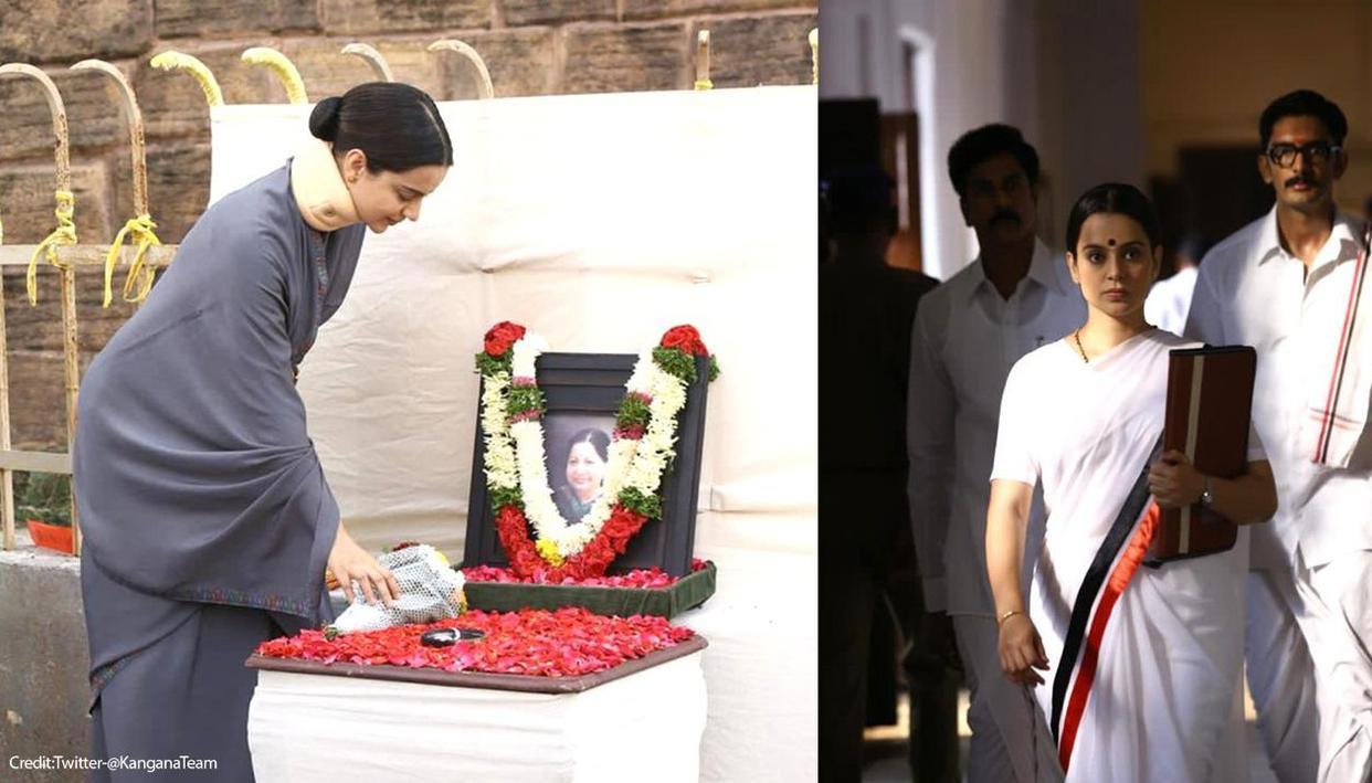 Kangana Ranaut pays tribute to late Jayalalithaa, calls her revolutionary mother - Republic World