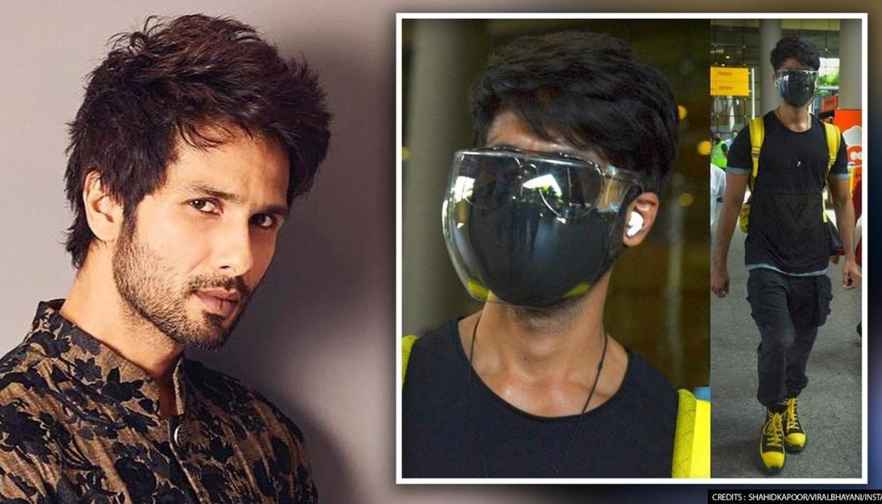 Shahid Kapoor follows COVID rules while travelling as cases surge, netizens  say 'sensible'