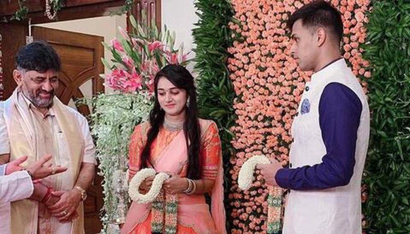Sr Congress neta DK Shivakumar's daughter engaged to late ...
