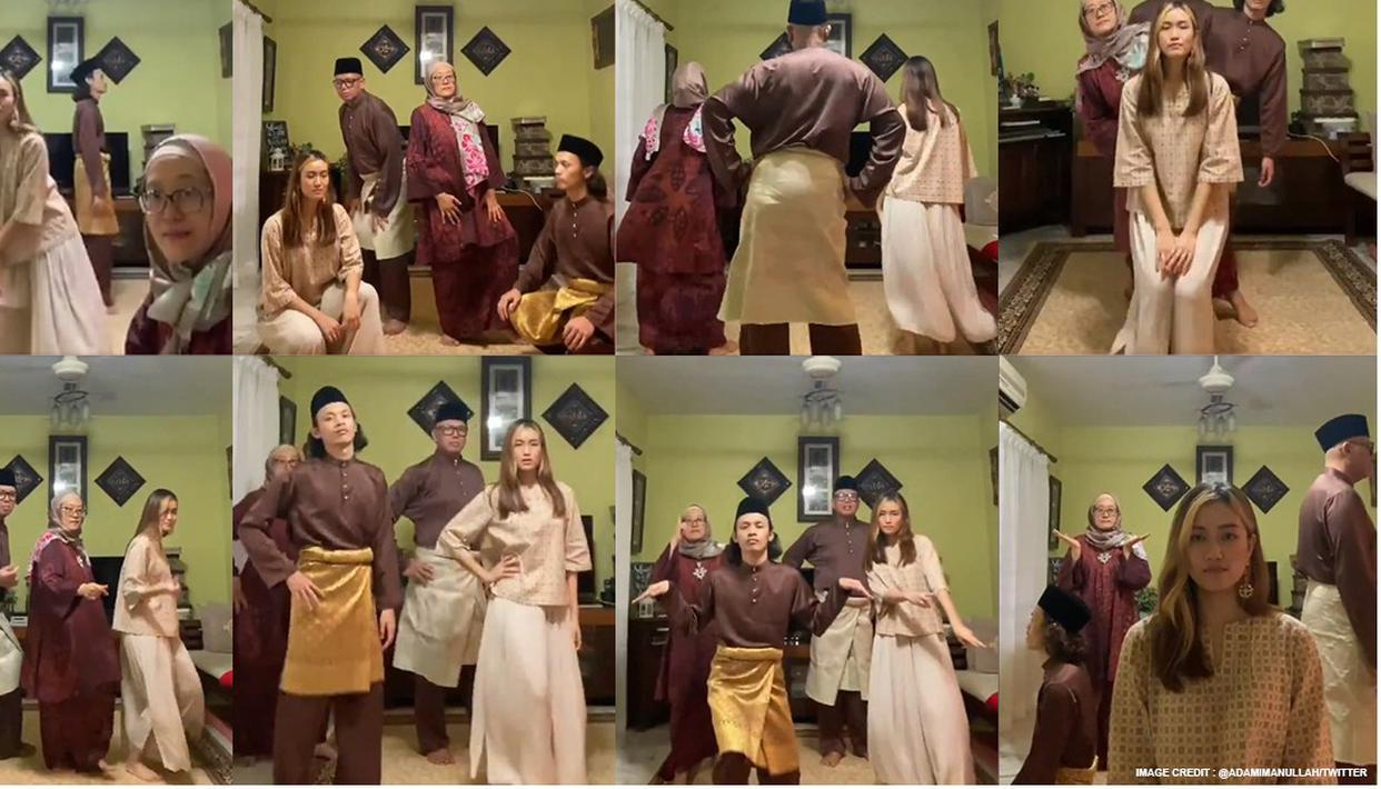 Video: Malaysian family's coordinated dance to wish Eid-ul-Fitr wins internet - Republic World