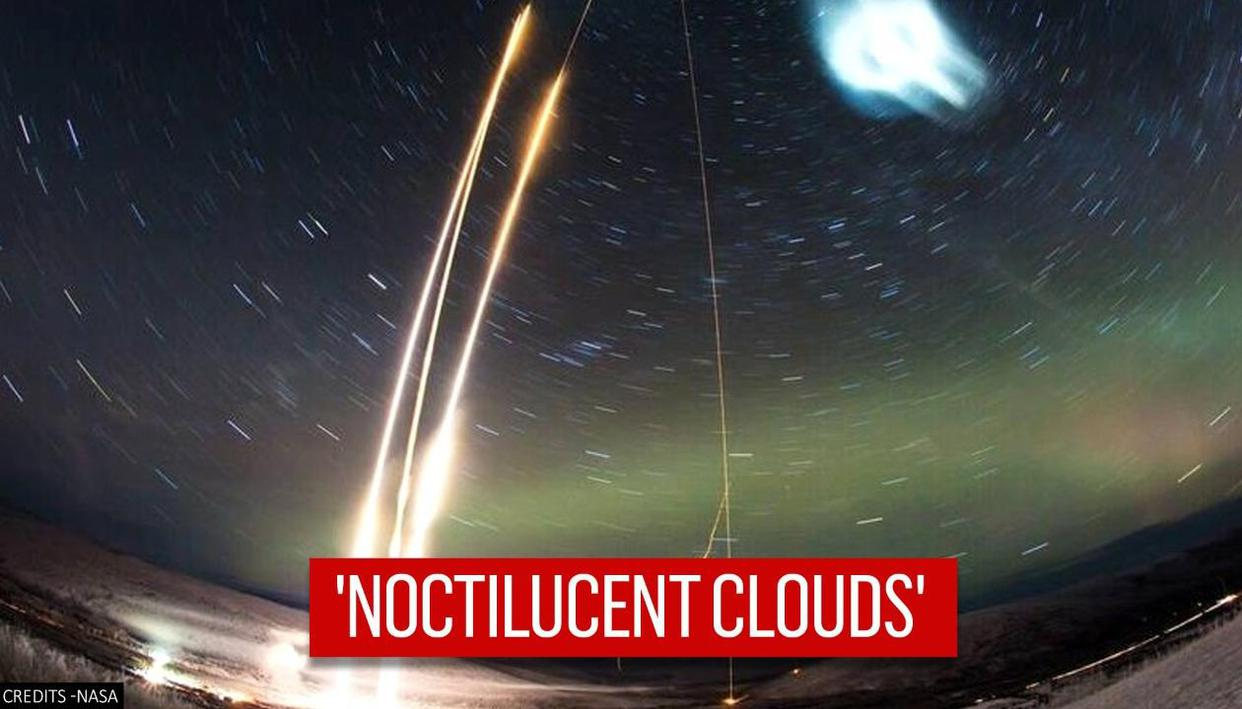NASA artificially creates night-glowing cloud on edge of Earths atmosphere, see picture - Republic TV