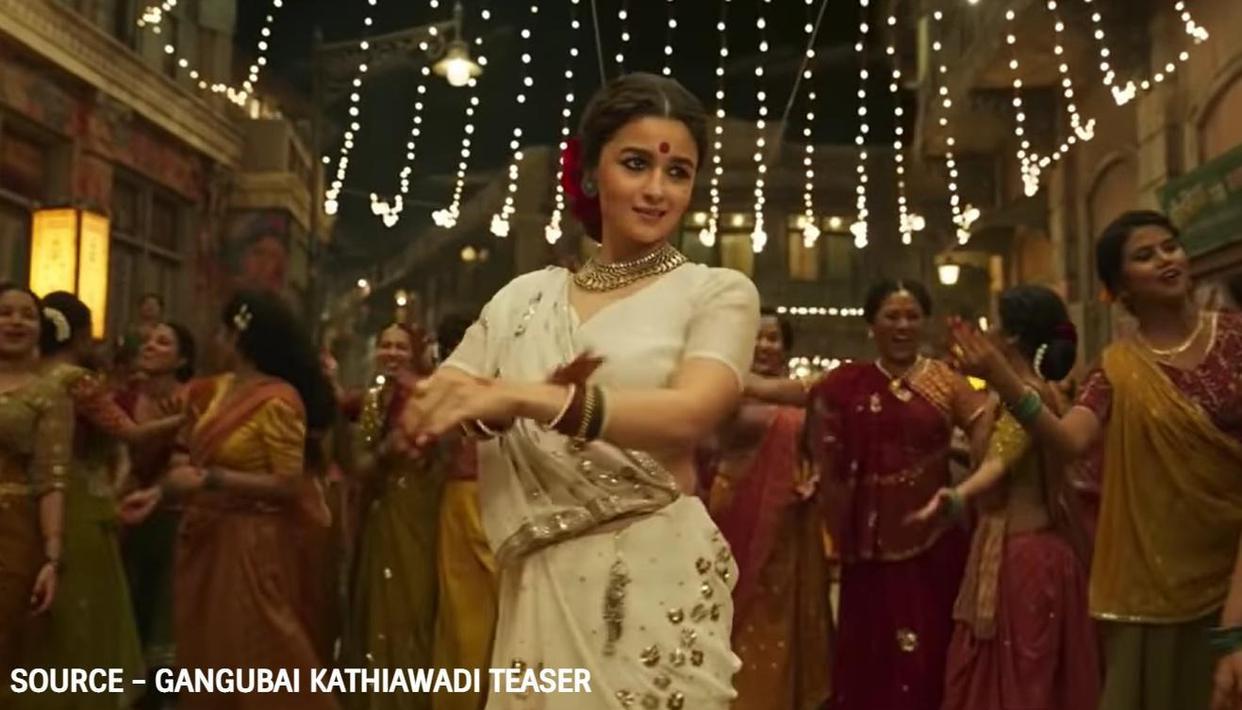 'Gangubai Kathiawadi' Teaser: Bollywood celebrities shower love on Alia Bhatt