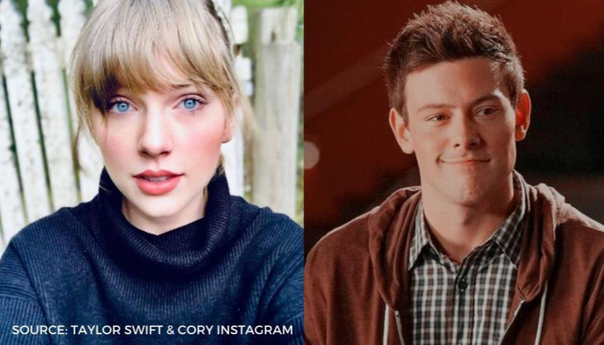 Remember When Taylor Swift Wrote A Song About Glee Actor Cory Monteith