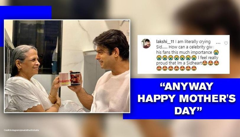 Mother's Day: Sidharth Shukla reveals quality of mom-son with pic; fans notice key detail