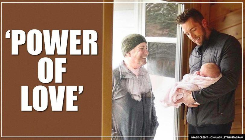 US: Elderly man walks 4 miles to see his newborn granddaughter amid COVID-19 outbreak