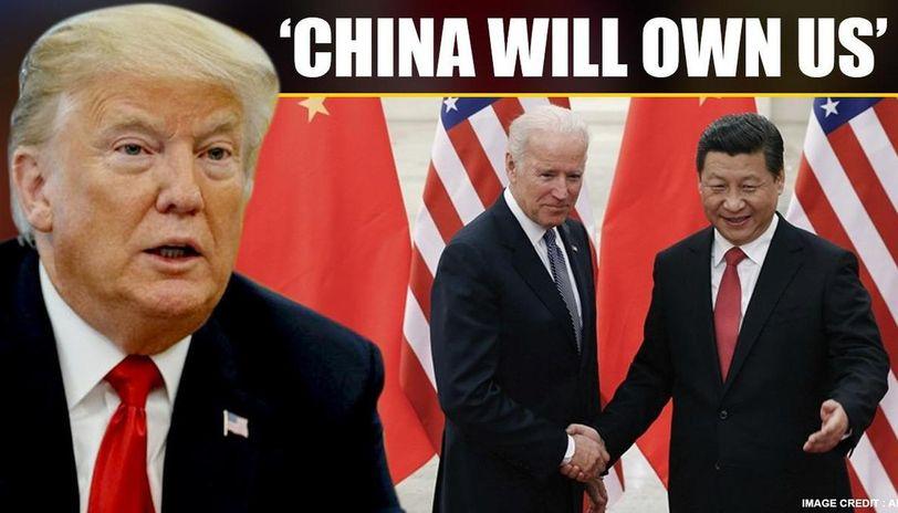Donald Trump takes a cue; says China will own US if 'sleepy Joe ...