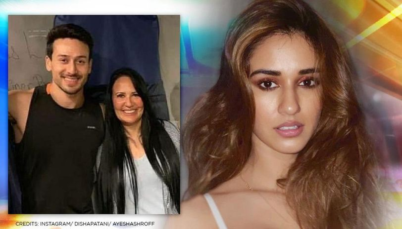 Ayesha Shroff shares a heart-warming picture with son Tiger, Disha Patani finds it 'cute'