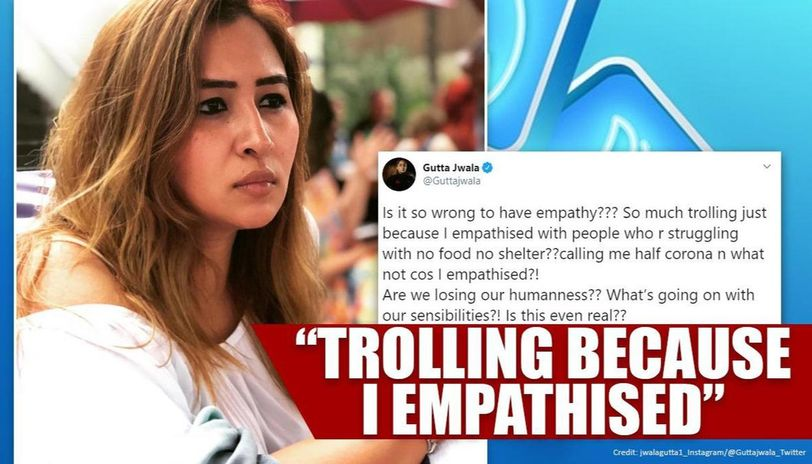 Jwala Gutta harassed with abuse and racist taunts, complains to Hyderabad, Chennai Police