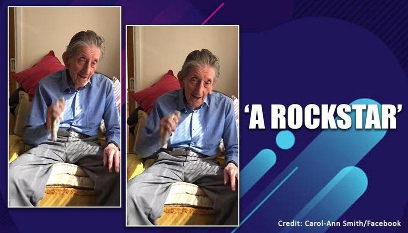 This 92-year-old has become singing sensation online amid coronavirus lockdown