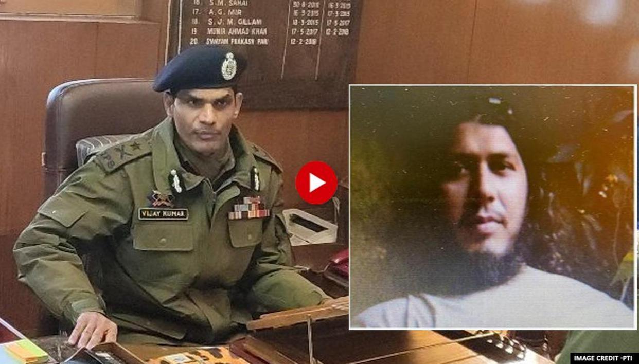 Afghan war veteran among three JeM terrorists killed in Kashmir: IGP Kashmir - Republic World
