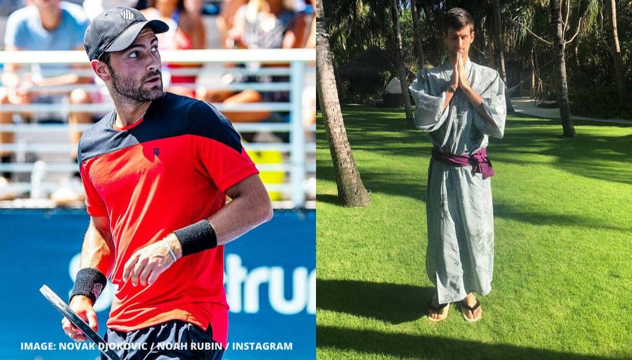Novak Djokovic Roasted By Us Tennis Star For Missing Atp Zoom Call To Play Football Republic World