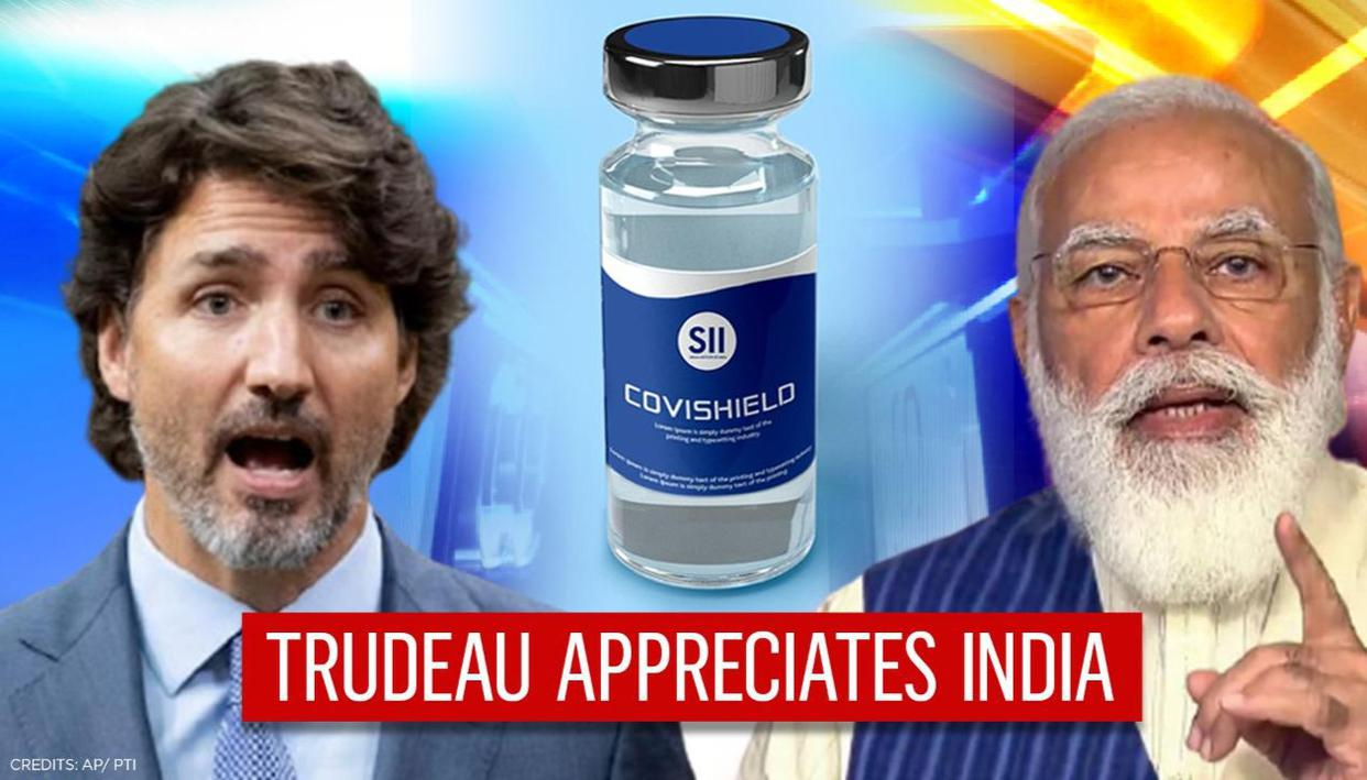 Justin Trudeau thanks India over fighting COVID, securing vaccine doses for Canadians - Republic TV