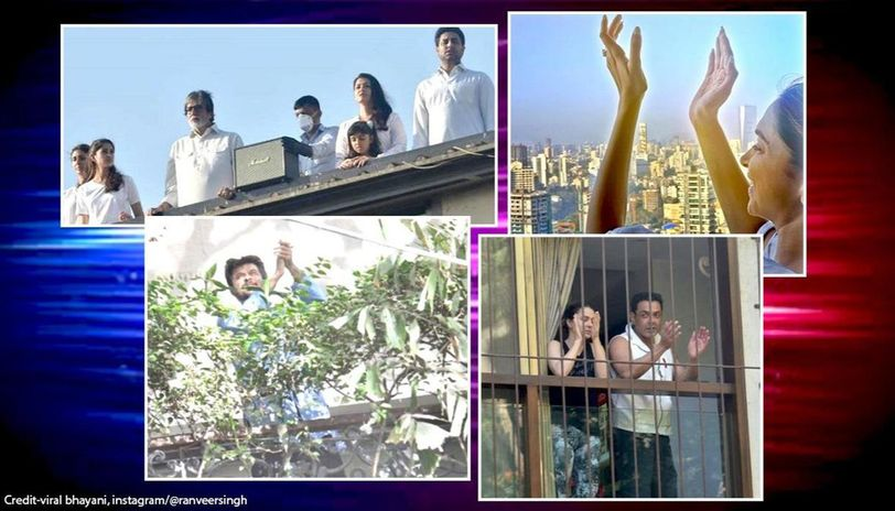 Janta Curfew: Bachchan family, Deepika, Anil Kapoor, others laud heroes with applause