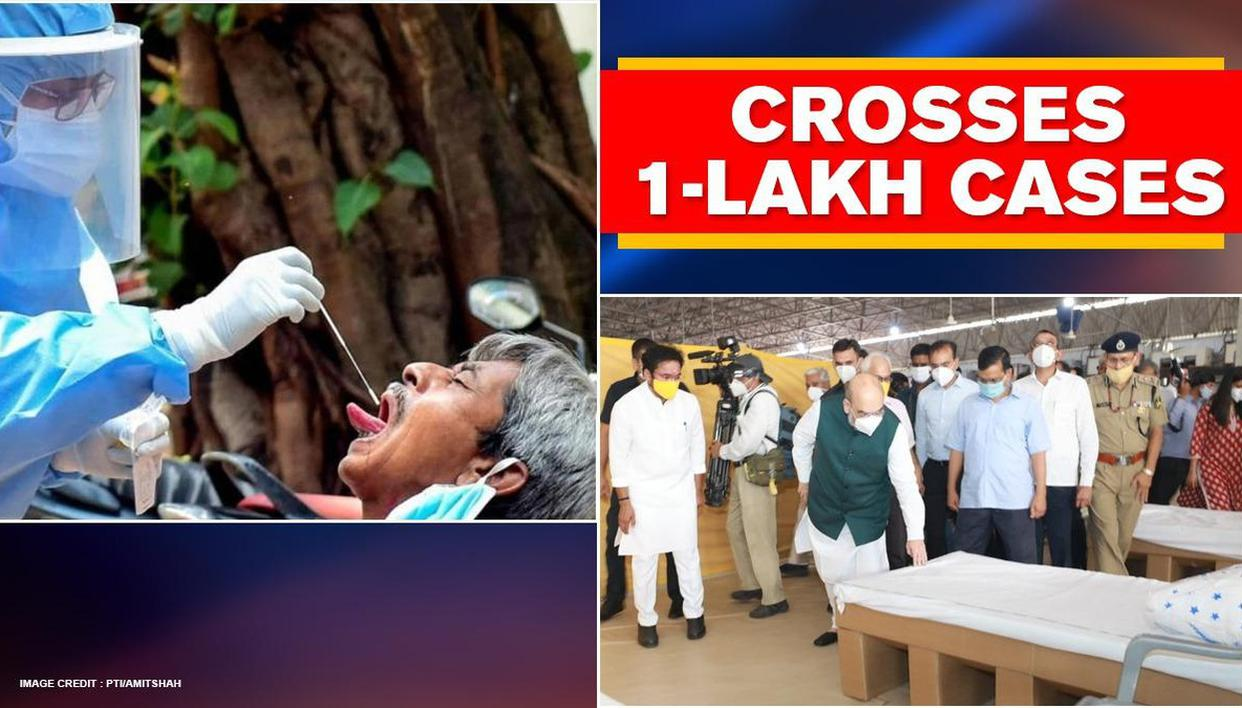 Delhi crosses 1-lakh mark with 1379 new COVID cases; positivity drops to 15.33% from 30% - Republic World