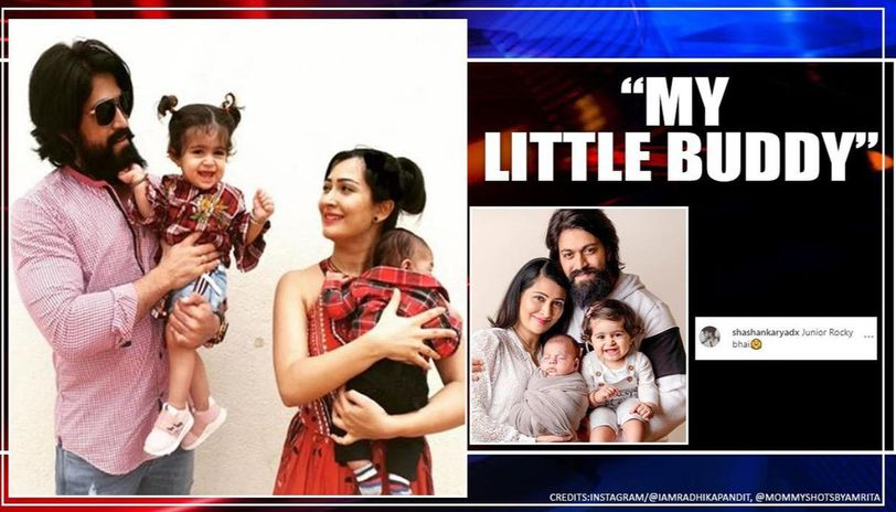 KGF star Yash-Radhika introduce son in cute family pic, create fan frenzy over 'Jr Rocky'