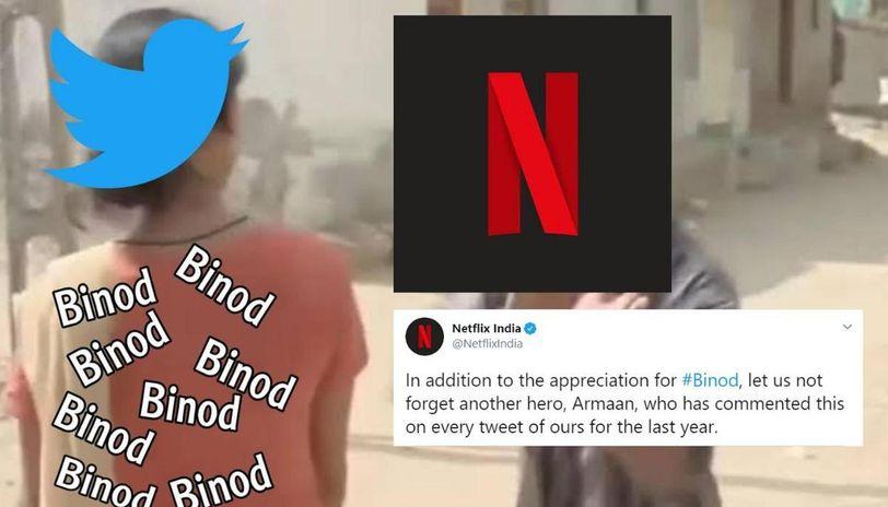 Netflix appreciates Binod memes and introduces 'hero ...