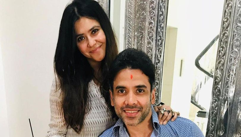 Ekta Kapoor shares enchanting video of brother Tusshar on his b'day, says ' I love u tush'