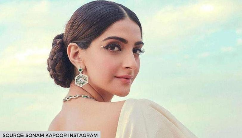 Sonam Kapoor expresses emotions of 'flying out in sky' with an angelic picture