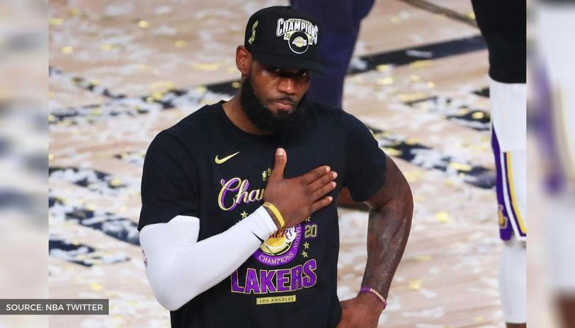 How many rings does LeBron James have after leading Lakers ...