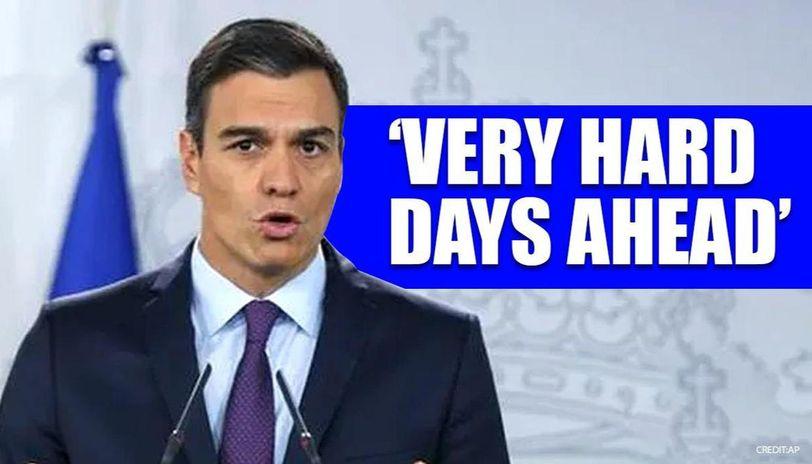 Spanish PM Pedro Sanchez warns citizens as coronavirus cases rise to 25,496