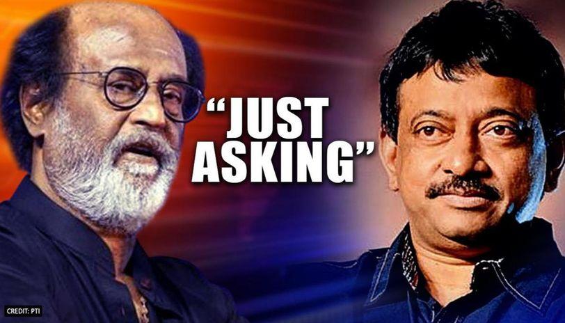 Ram Gopal Varma back it again, questions Rajinikanth saying 'Why not destroy Coronavirus?'