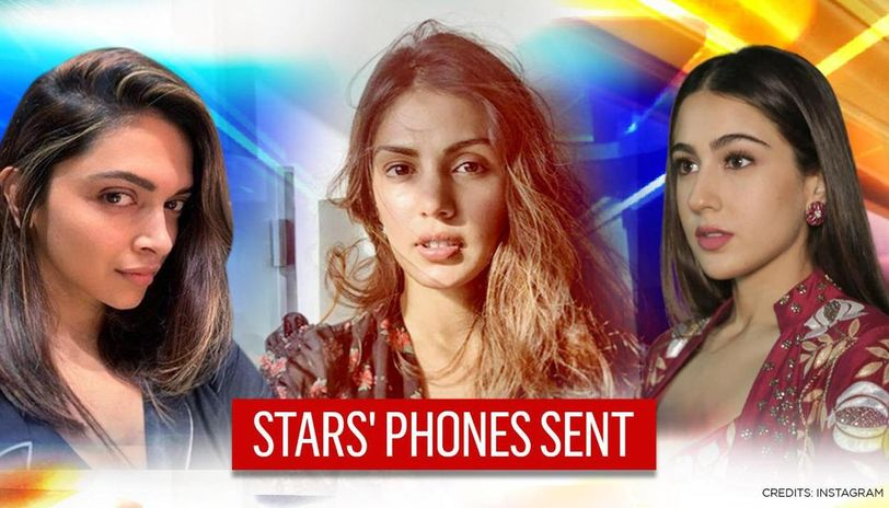 Phones of Rhea Chakraborty, Deepika Padukone, others sent to DFS as NCB probes drugs case