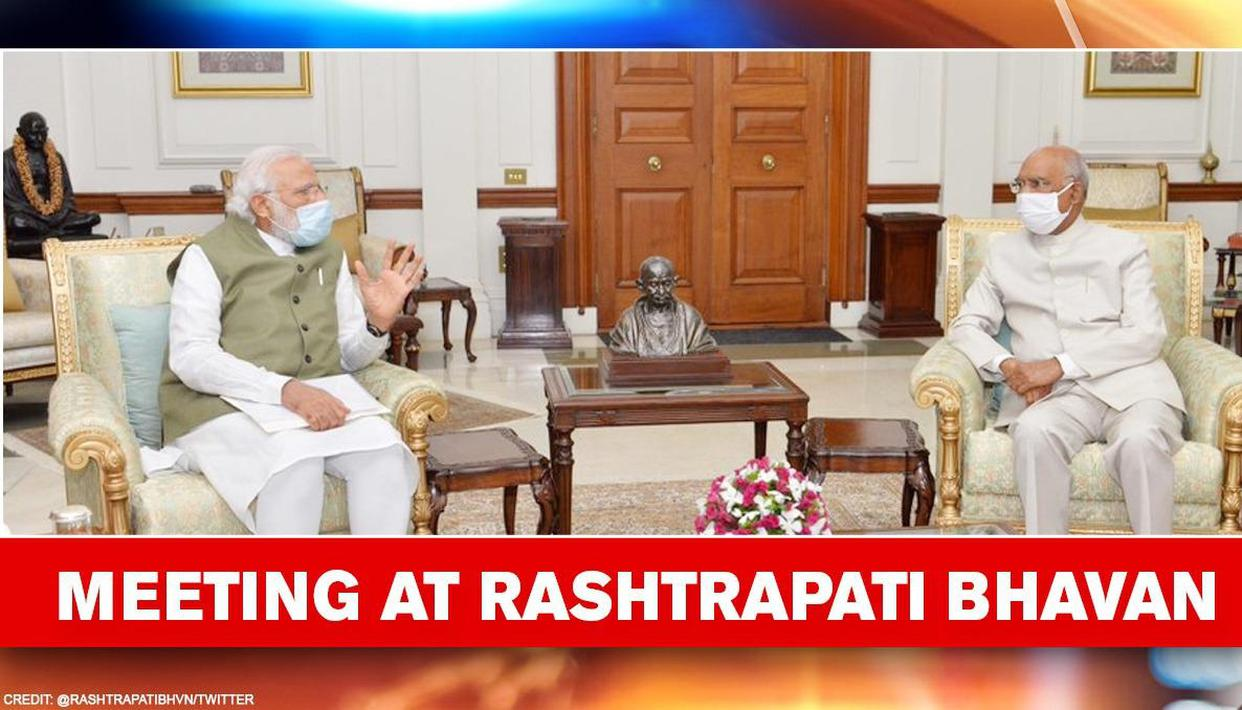 'India passing through a crucial moment in history,' says VP as PM Modi meets President - Republic World