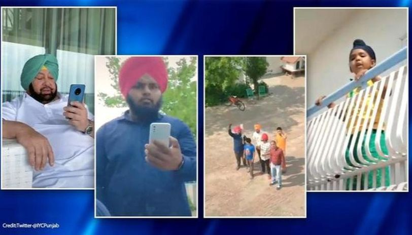 Punjab CM teams up with TikTok user to spread social distancing message